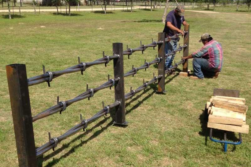 Huge Barbed Wire   Texas Twist Barbwire Ega Metal Fabrication