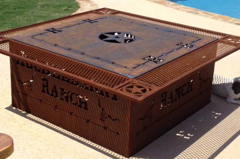 Custom Metal Fire Pits Ega Metal Fabrication